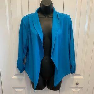 👚3/$15👚 Blue Michel Blazer size large